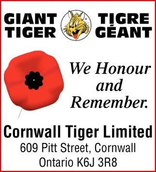 We Honour and Remember