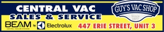 Central VAC Sales & Services