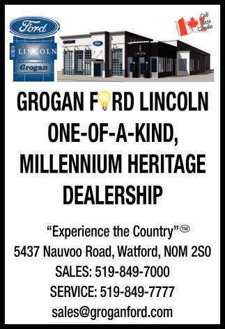Grogan Ford Lincoln One-Of-A-Kind, Millenium Heritage Dealership