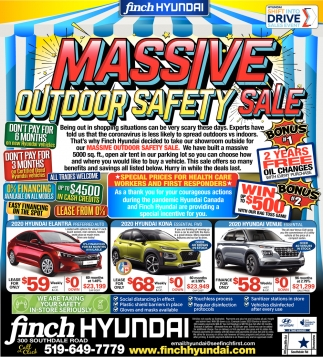 Massive Outdoor Safety Sale