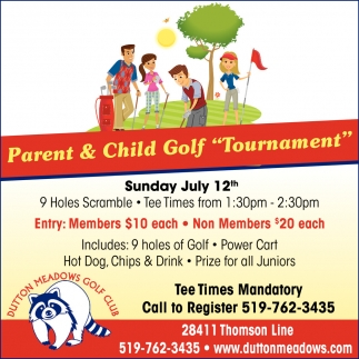 Parent & Child Golf