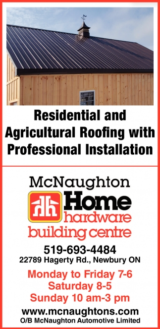Residential And Agricultural Roofing With Professional Installation
