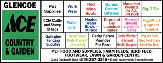 Purina Food And Supplies, Farm Feeds, Bird Feed, Footwear, Lawn & Garden Centre