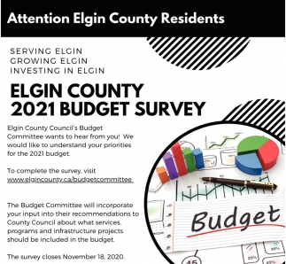 Elgin County 2021 Budget Survey