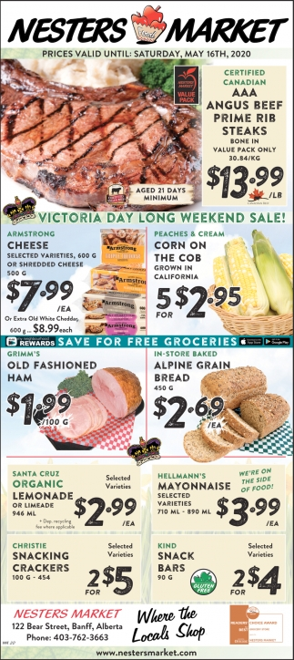 Victoria Day Long Weekend Sale!