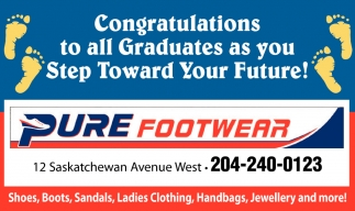 Congratulations to All Graduates as You Step Toward Your Future!