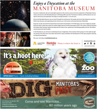 Enjoy a Daycation at the Manitoba Museum