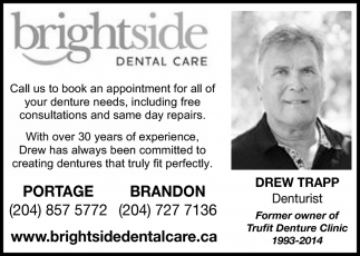 Former Owner of Trufit Denture Clinic 1993-2014