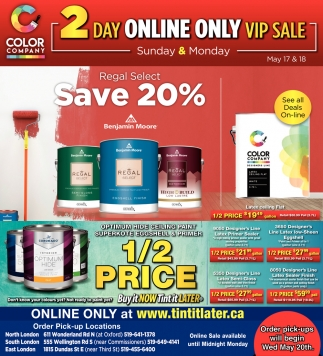 2 Day Online Only VIP Sale