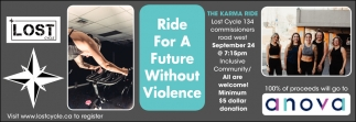 Ride For A Future Without Violence