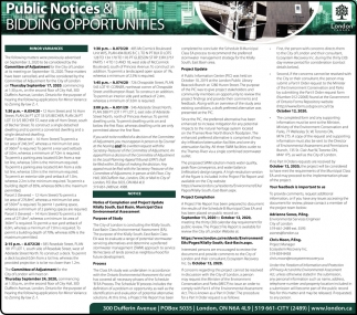 Public Notices & Bidding Opportunities