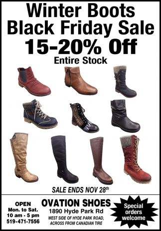 Winter Boots Black Friday Sale