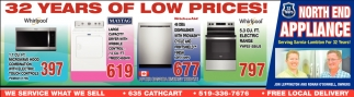 32 Years Of Low Prices!