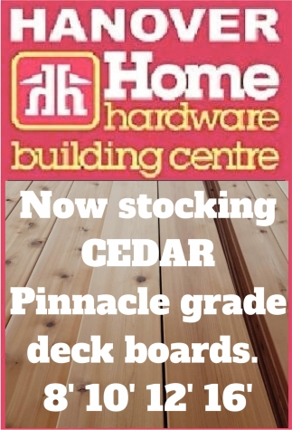 Now Stocking CEDAR