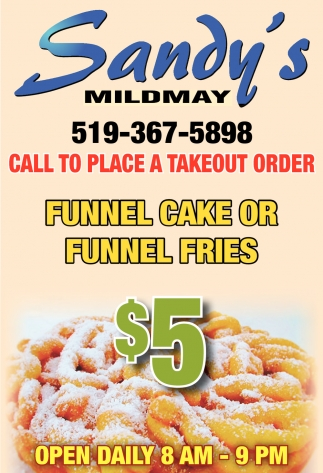 Funnel Cake Or Funnel Fries