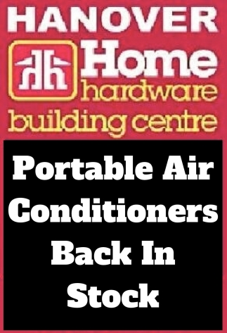 Portable Air Conditioners Back In Stock
