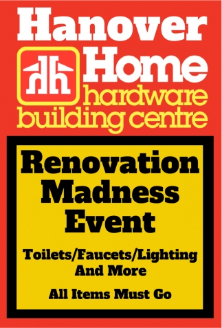 Renovation Madness Event