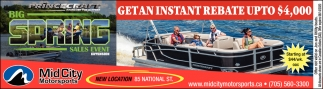 Get an Instant Rebate Up to $4,000