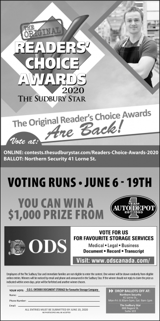 The Original Readers' Choice Awards