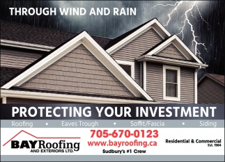 Through Wind and Rain Protecting Your Investment