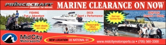 Marine Clearance On Now