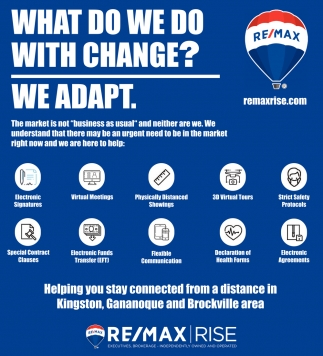 What Do We Dot with Change?. We Adapt