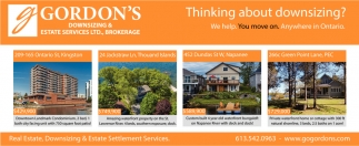 Thinking About Downsizing?
