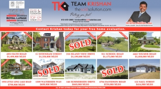 Contact Krishan Today for Your Free Home Evaluation