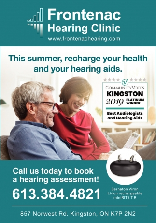 Call Us Today to Brook a Hearing Assessment!