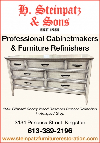 Professional Cabinetmakers & Furniture Refinishers