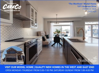 Visit Our Model Home