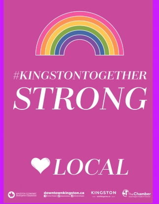 #Kingstontogether Strong