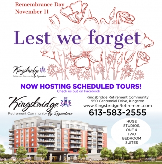 Now Hosting Scheduled Tours!