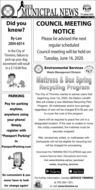 Your Municipal News