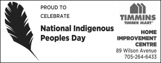 Proud to Celebrate National Indigenous Peoples Day