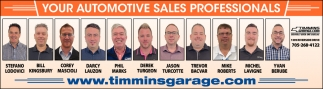 Your Automotive Sales Professionals