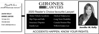 2020 Reader's Choice Favourite Lawyer!