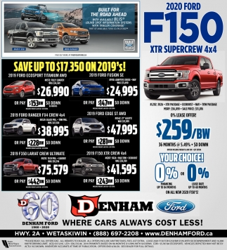 Where Cars Always Cost Less!