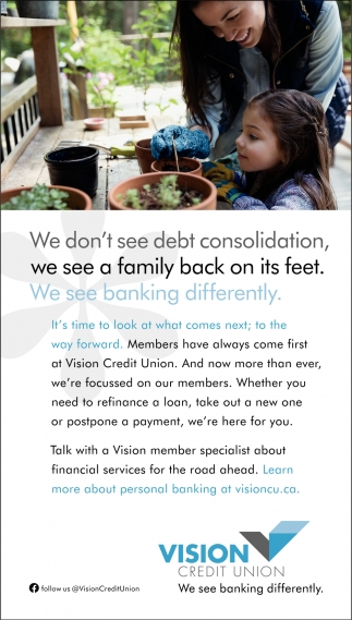 We Don't See Debt Consolidation, We See A Family Back On It's Feet.