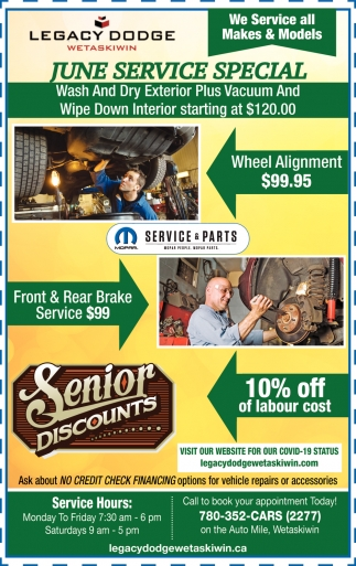 June Service Special