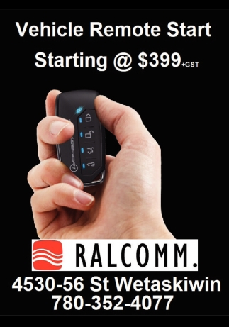 Vehicle Remote Start Starting @ $399 +GST