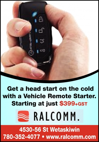 Get A Head Start On The Cold With A Vehicle Remote Starter.