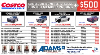 Elegible Costco Members Receive Costco Member Pricing + $500 Costco Shop Card