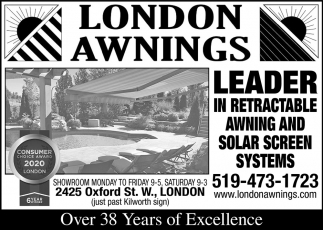 Leader In Retractable Awnings And Solar Screen Systems