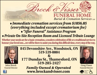 Burial & Cremation Services