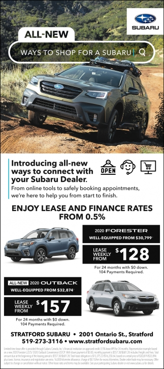 All New Ways To Shop For A Subaru