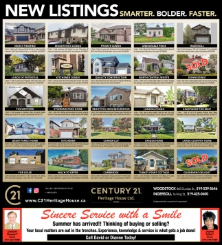 New Listings. Smarter. Bolder. Faster.