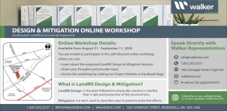 Design & Mitigation Online Workshop
