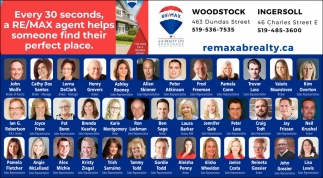 Every 30 A RE/MAX Agent Helps Someone Find Their Perfect Place
