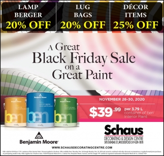 A Great Black Friday Sale On A Great Paint